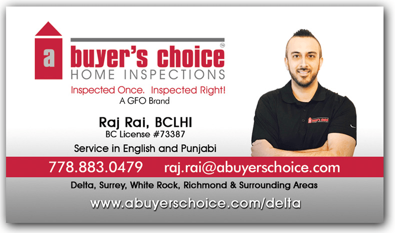 Home Inspector Business Card with Photo