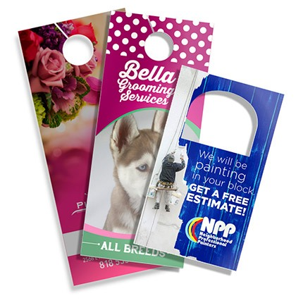 Custom Door Hanger design and printing