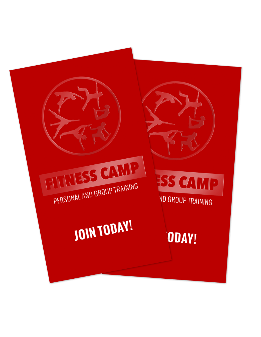 Fitness / Personal Trainer Business Cards