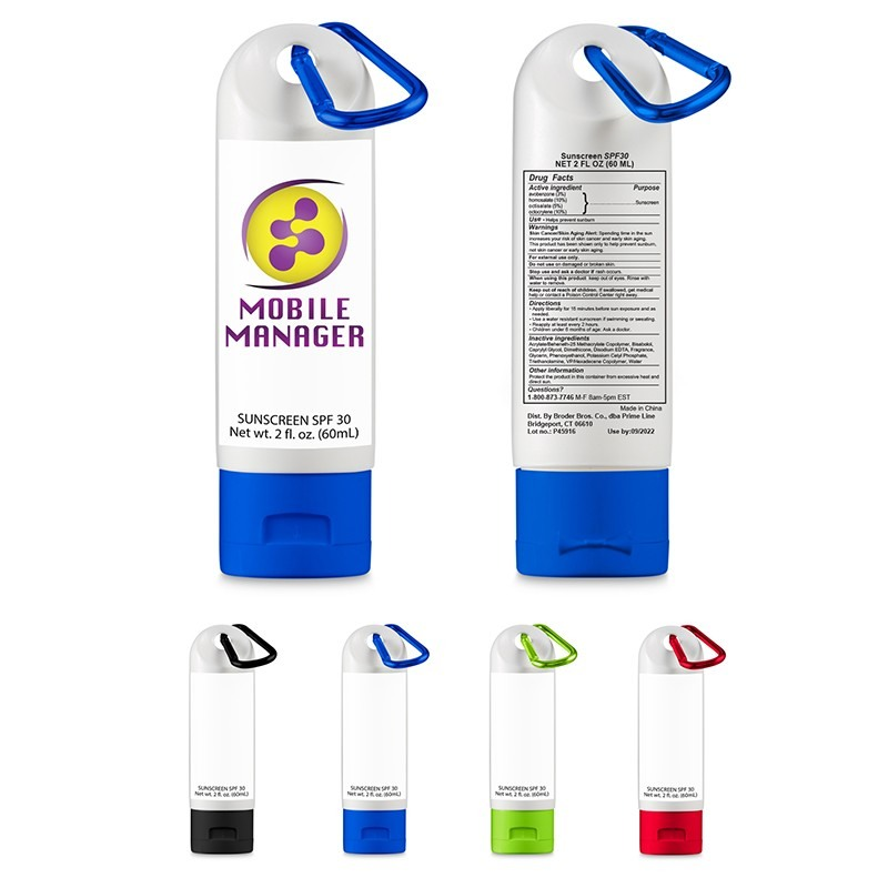 Business Promotional Items - Sunscreen