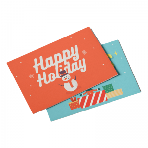 Custom Holiday Postcards
