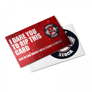 Durable Postcards waterproof and tear resistent