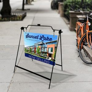 sidewalk signs home for sale